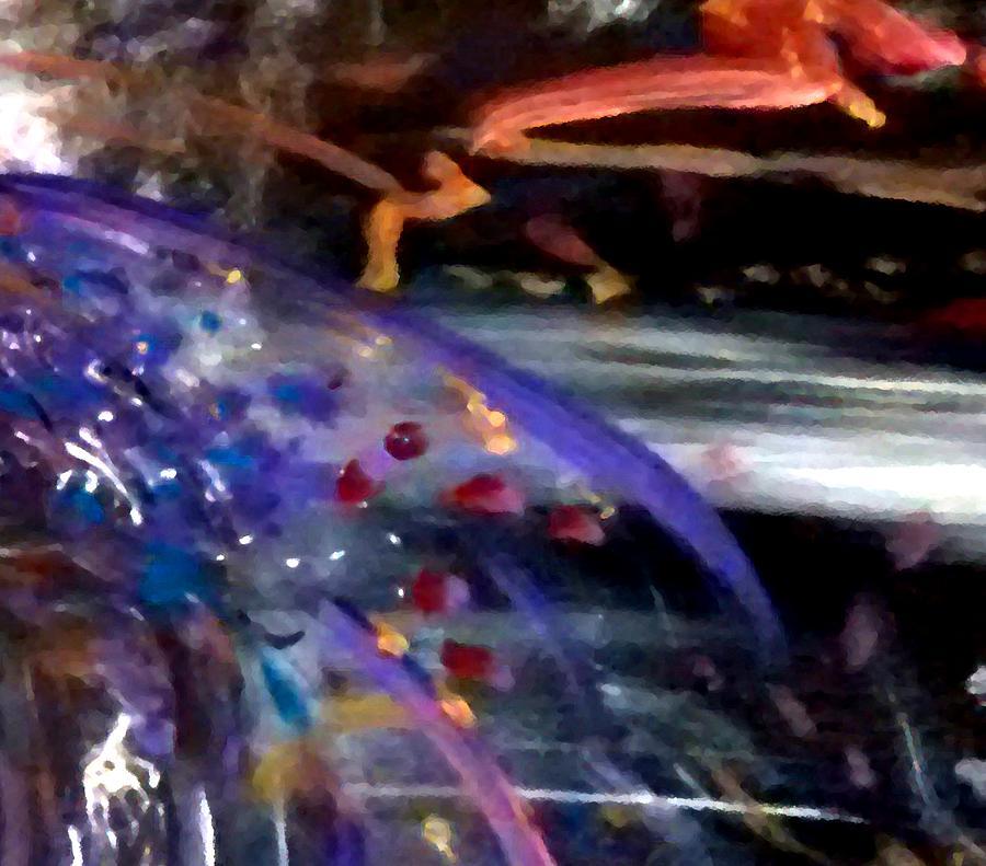 Iphone Case Painting - Burst Of Color by Michelle Audas