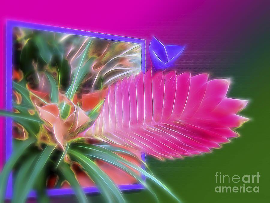 Surrealism Digital Art - Bursting Forth In Bloom by Sue Melvin