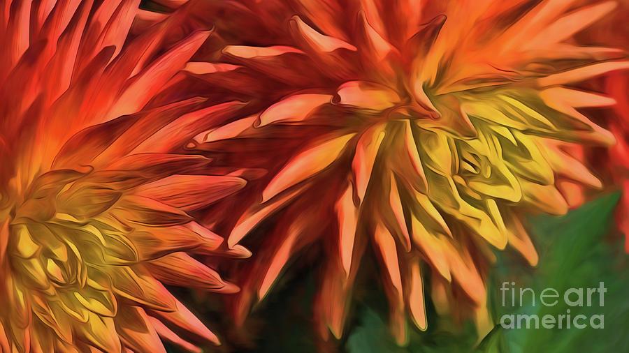Bursting With Color Digital Art