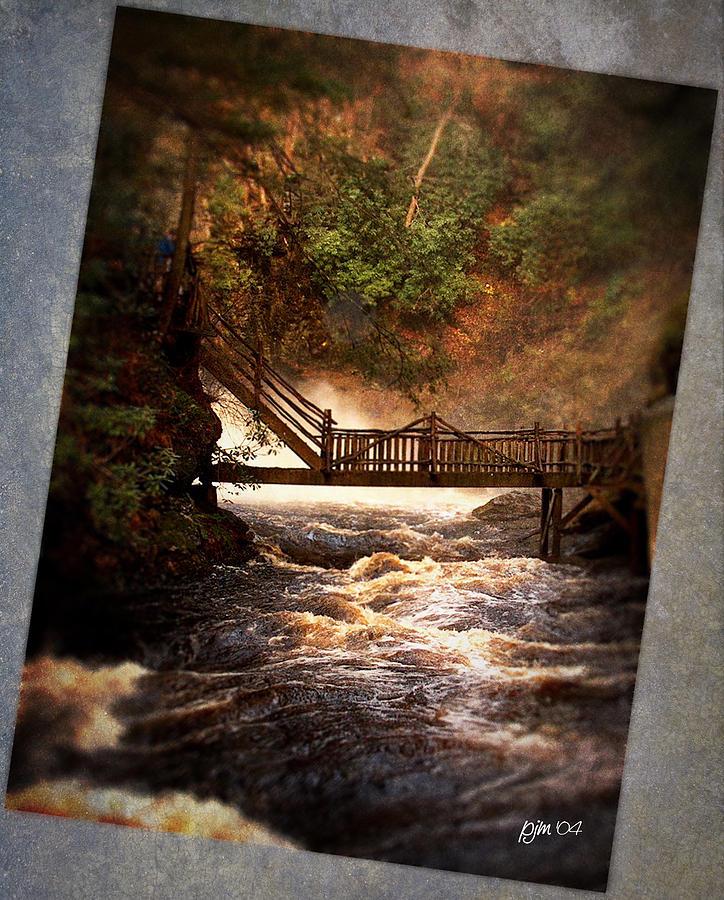 Landscape Photograph - Bushkill Falls by Phil Mancuso