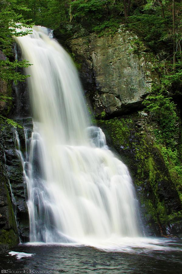 Bushkill Falls Waterfall Photograph