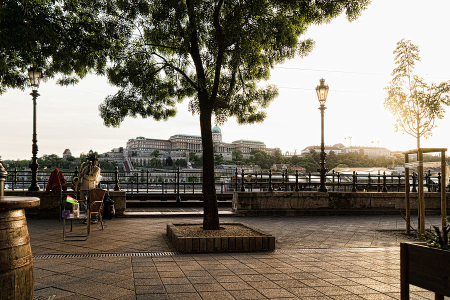 Budapest Photograph - Buskin On The Danube by Sharon Popek