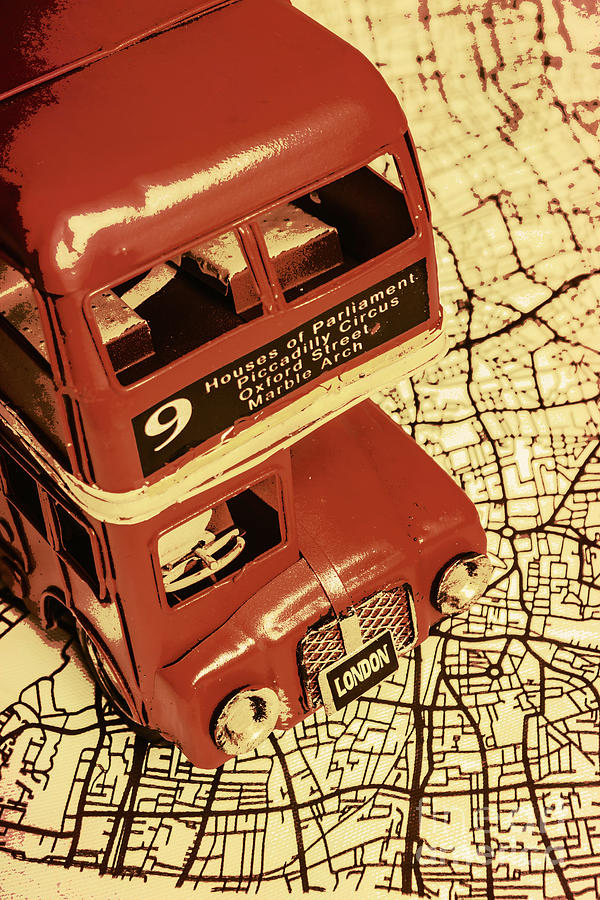 City Photograph - Bussing Britain by Jorgo Photography - Wall Art Gallery