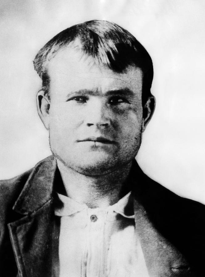 19th Century Portrait Photograph - Butch Cassidy, Circa 1890 by Everett