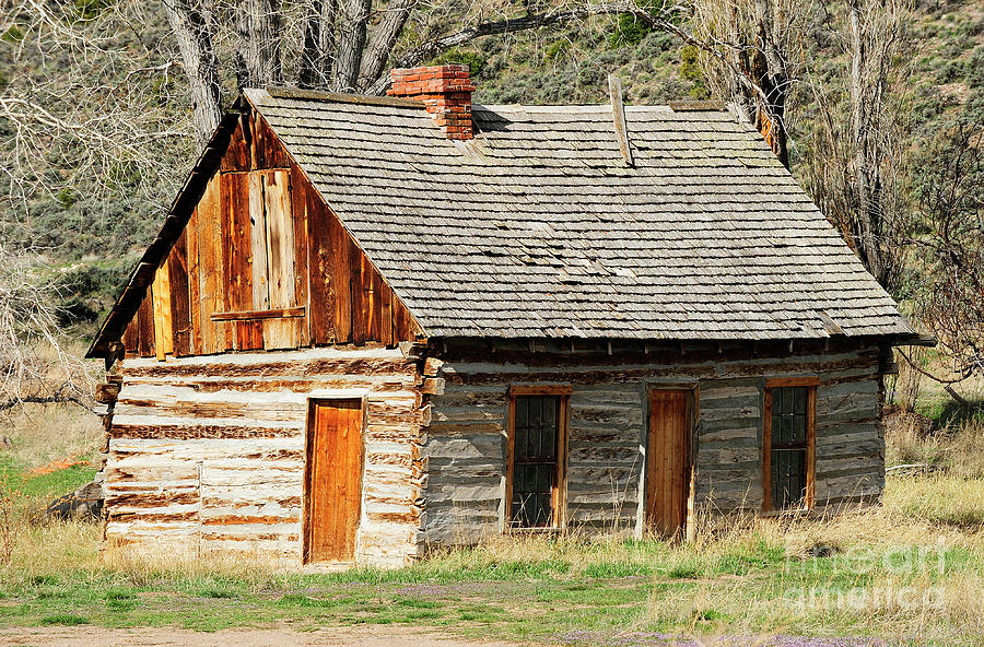 Utah Photograph - Butch Cassidys Family Homestead by Dennis Hammer