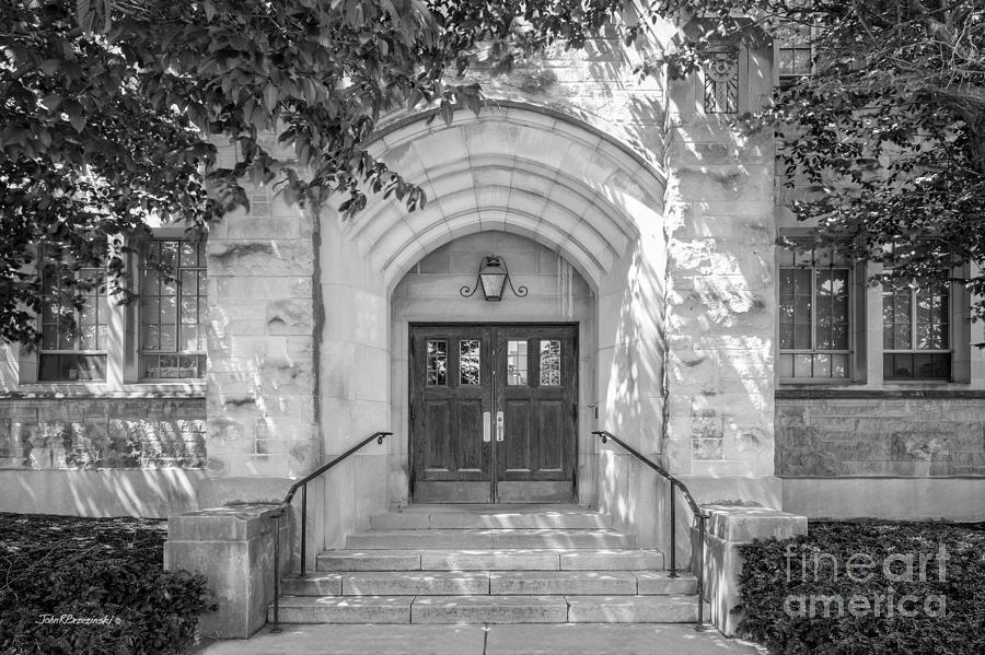 Butler University Photograph - Butler University Doorway by University Icons