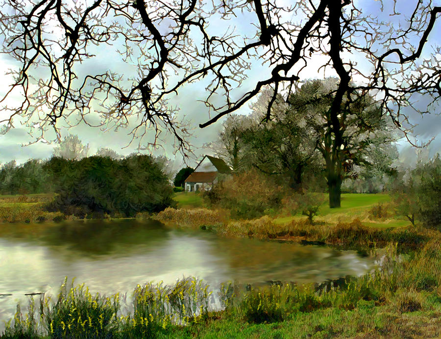 England Photograph - Butlers Retreat Epping Forest Uk by Kurt Van Wagner