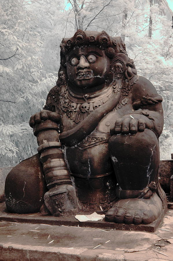 Image Photograph - Buto Statue by Mario Bennet