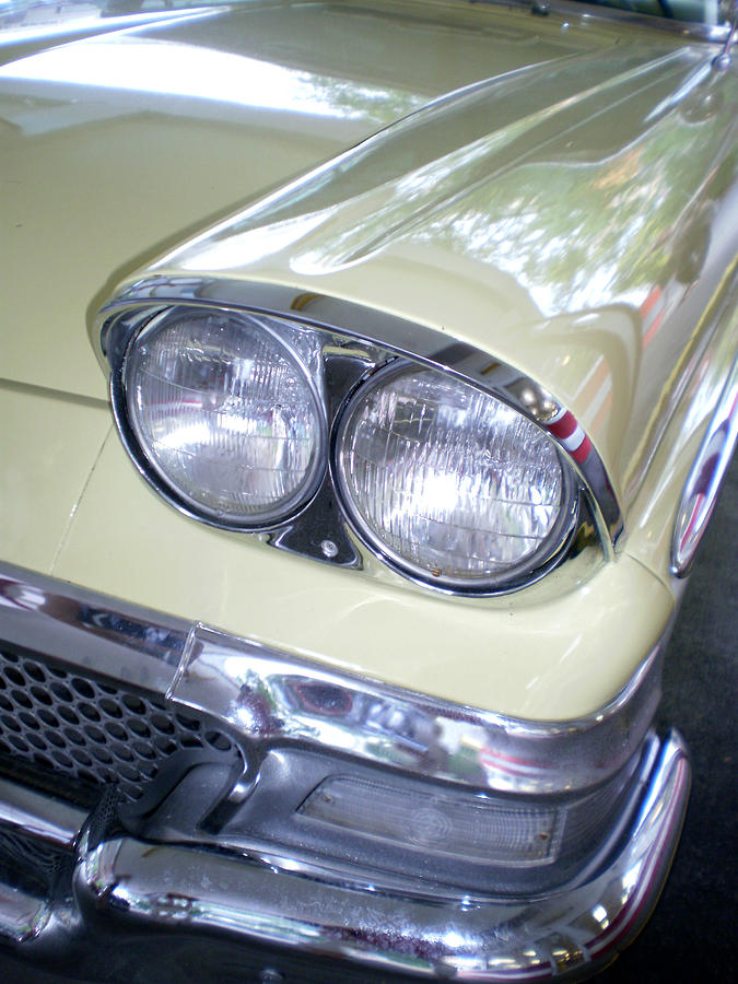 Cars Photograph - Butter And Chrome by Jan Amiss Photography