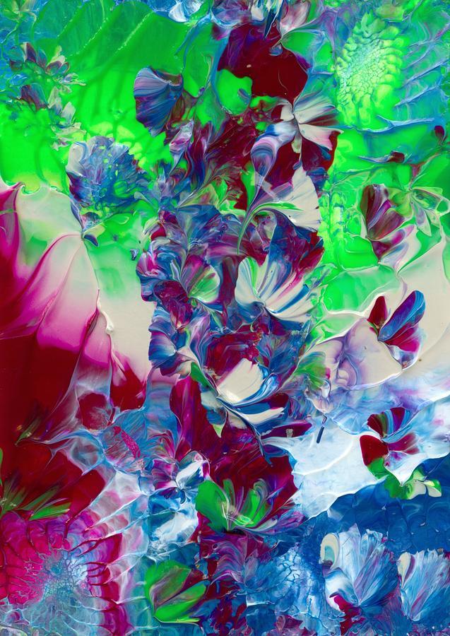 Butterflies, Fairies and Flowers by Nan Bilden