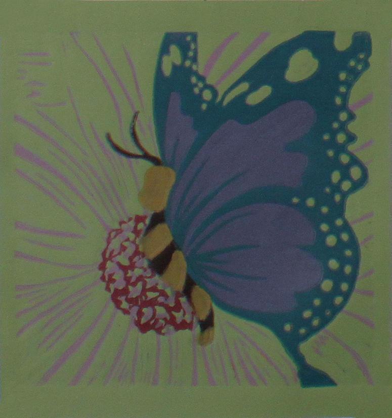 Butterfly Mixed Media - Butterfly 6 by Zhimin Zhai