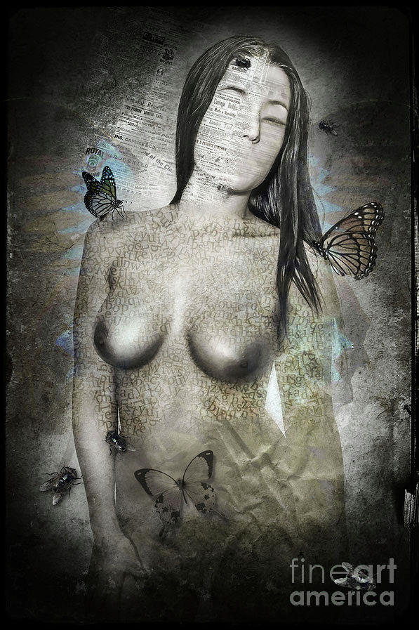 Nude Photograph - Butterfly by Antonio De Irun
