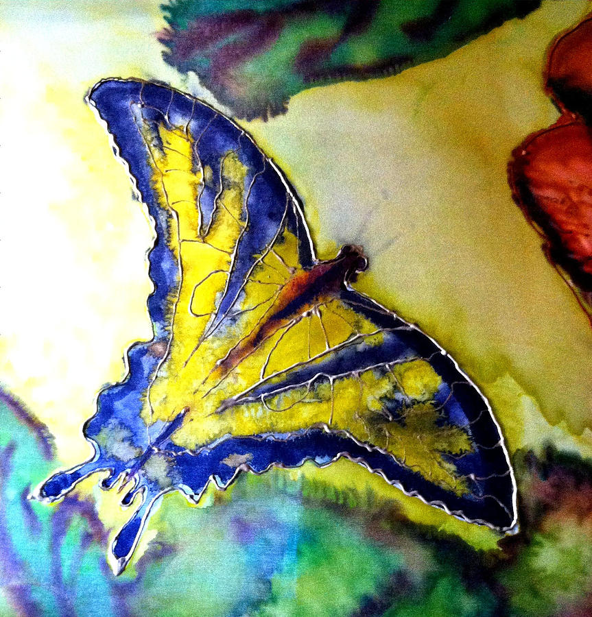 Butterfly Painting - Butterfly by Beverly Johnson
