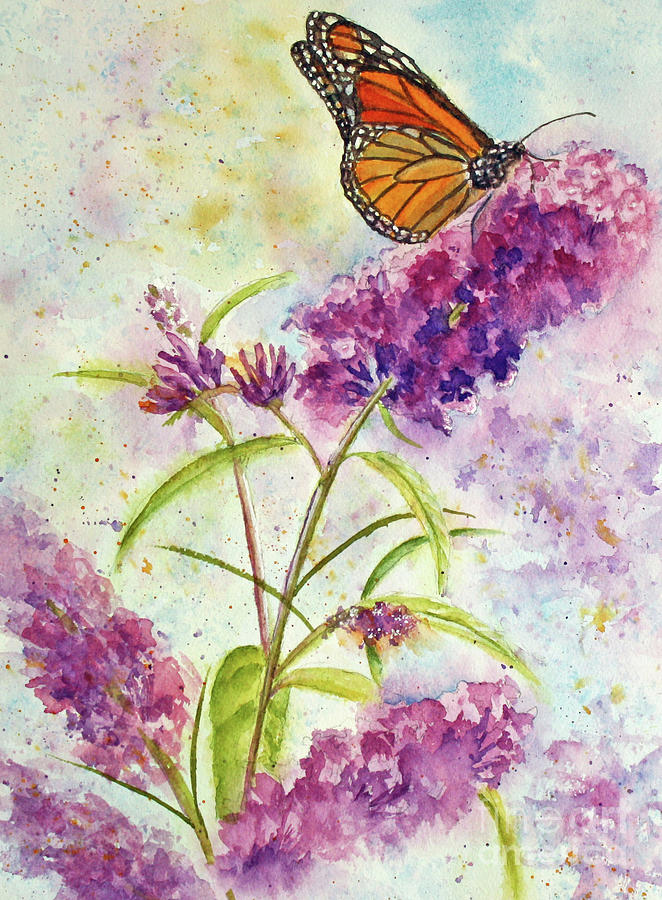 Butterfly Blues by Kathryn Duncan