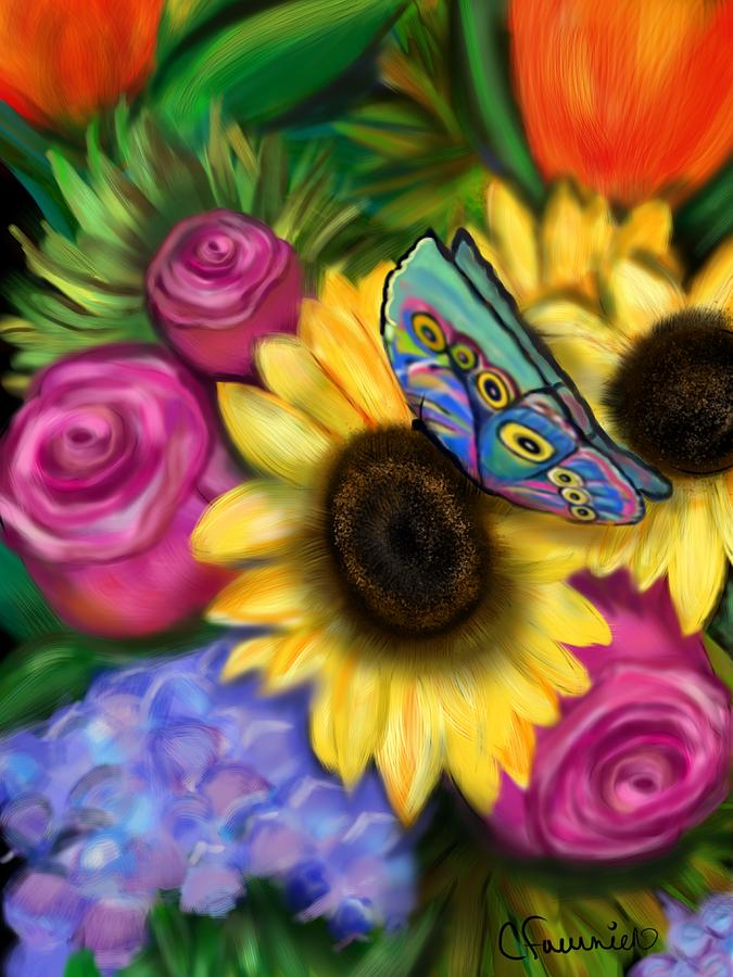 Butterfly Happiness by Christine Fournier