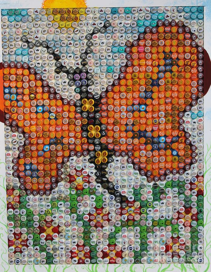 Butterfly Tapestry   Textile   Butterfly In A Polish Garden By Albert  Podgurski