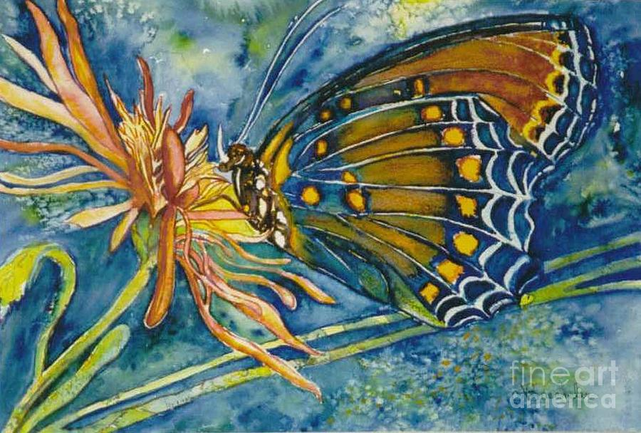 Butterflies Painting - Butterfly In Ca by Norma Boeckler