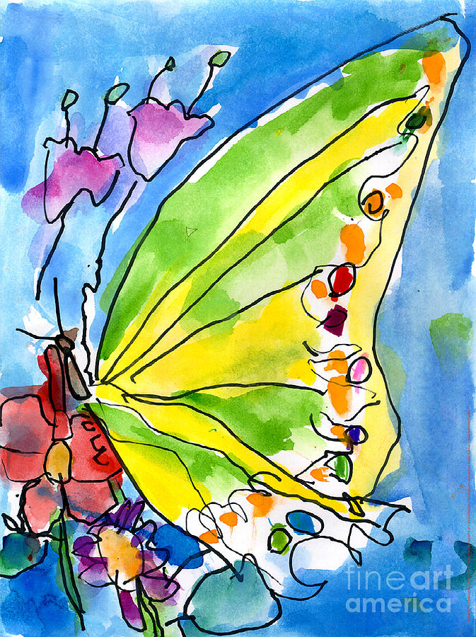 Butterfly by Jeffrey Shutt Age Six