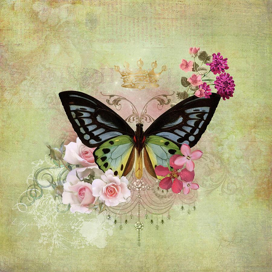 Butterfly Magic Digital Art by Margaret Goodwin