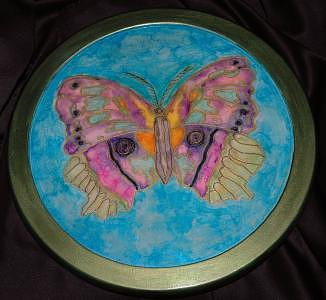 Butterfly Mixed Media by Mickie Boothroyd