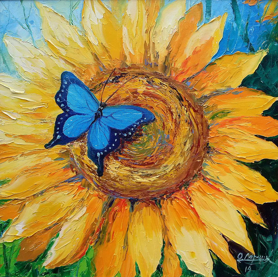 Sunflower Art Painting