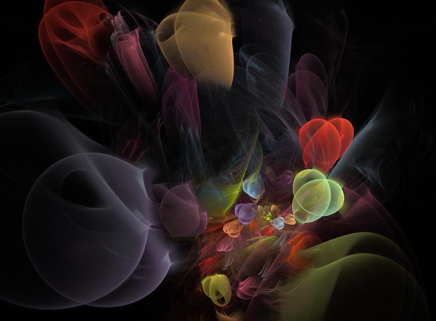 Fantasy Digital Art - Butterfly Tea - Fractal Art by NirvanaBlues