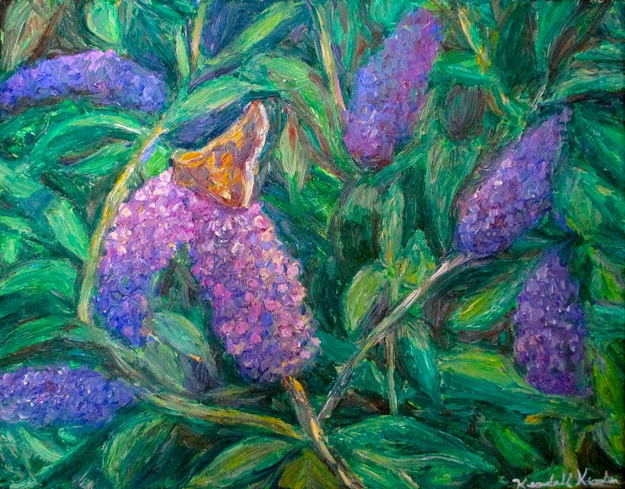 Butterfly Painting - Butterfly View by Kendall Kessler