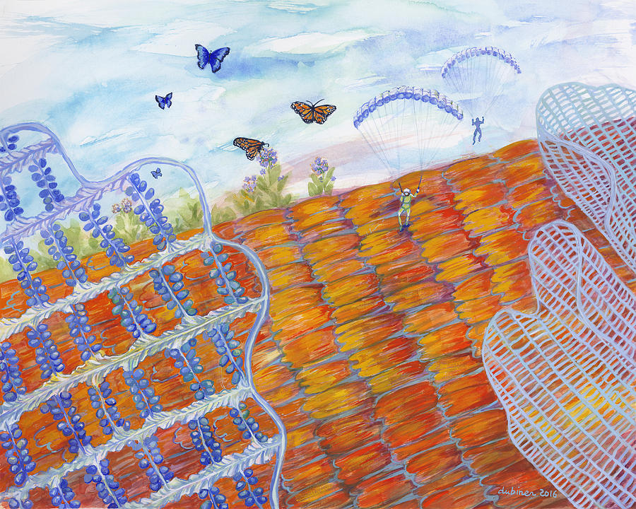 Butterfly's Wings by Shoshanah Dubiner