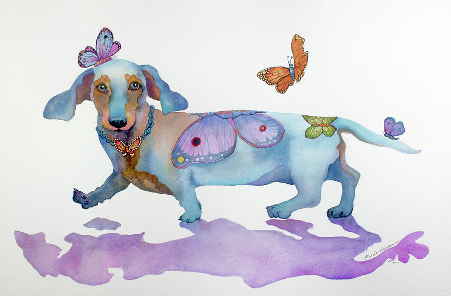 BUTTERFLY DOXIE DOO by Marcia Baldwin