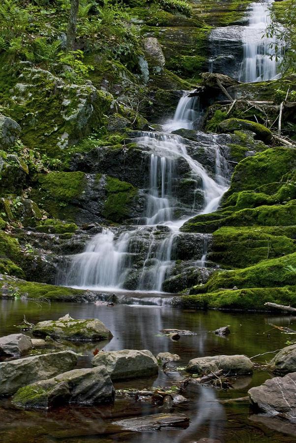 Waterfalls Photograph - Buttermilk Falls by Andrew Kazmierski