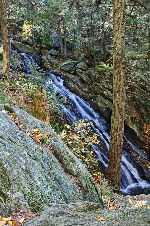 Water Fall Photograph - Buttermilk Falls by Edward Sobuta