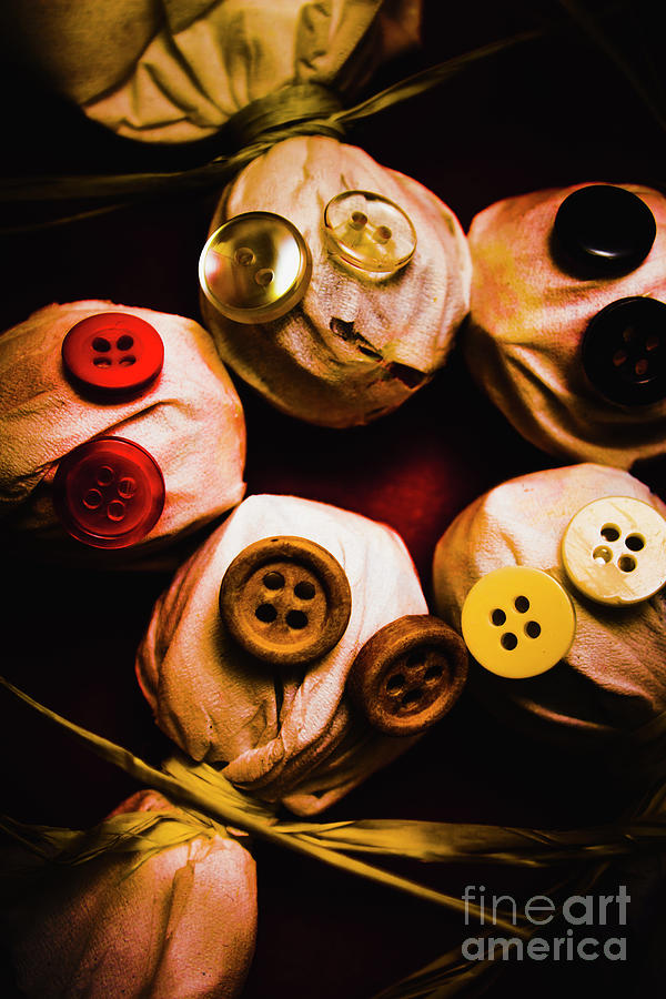 Monster Photograph - Button Sack Lollypop Monsters by Jorgo Photography - Wall Art Gallery