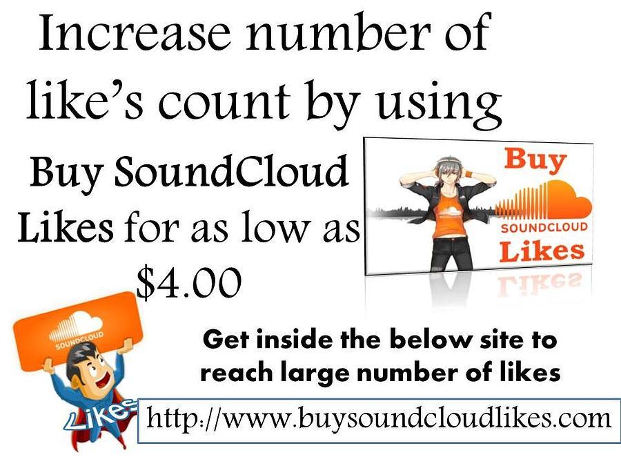 Buy Soundcloud Likes- Buysoundcloudlikes by Partick