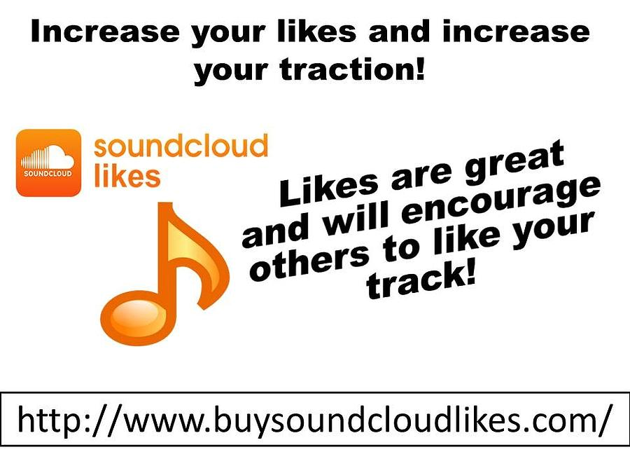 Buy Soundcloud Likes For More Visitors by Partick