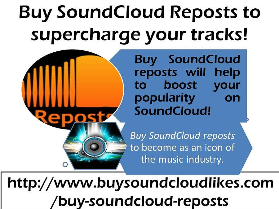 Buy Soundcloud Reposts- Buysoundcloudlikes by Patrick