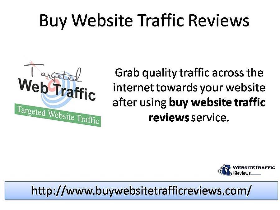 Buy Website Traffic Reviews by Kim Raver