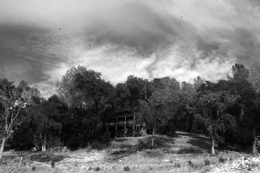 Landscape Photograph - Buzzards Over Naci by Jason Sanders