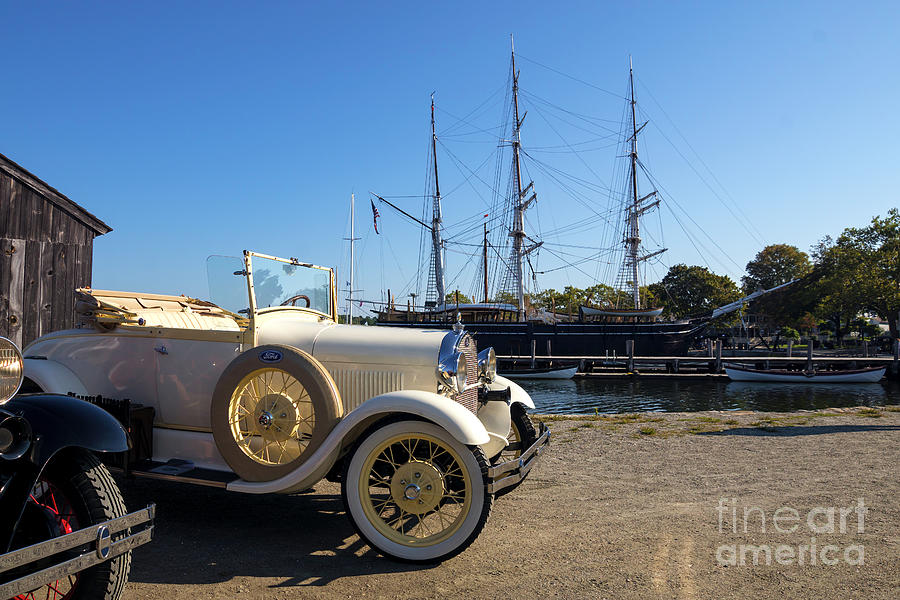Auto Photograph - By Land And By Sea by Joe Geraci