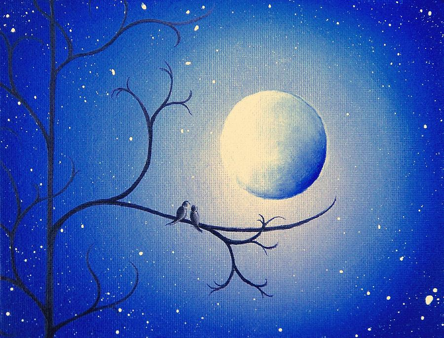 By The Night Painting