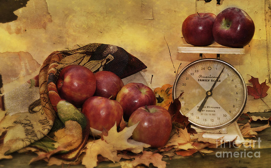 Autumn Photograph - By The Pound by Kathy Jennings