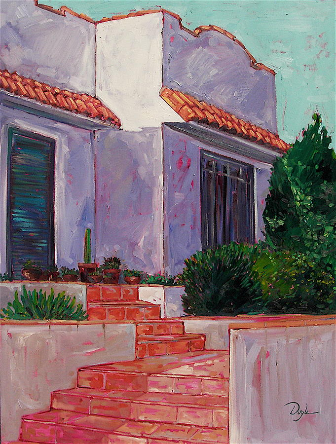 House Painting - By The Shapes Of Things by Karen Doyle