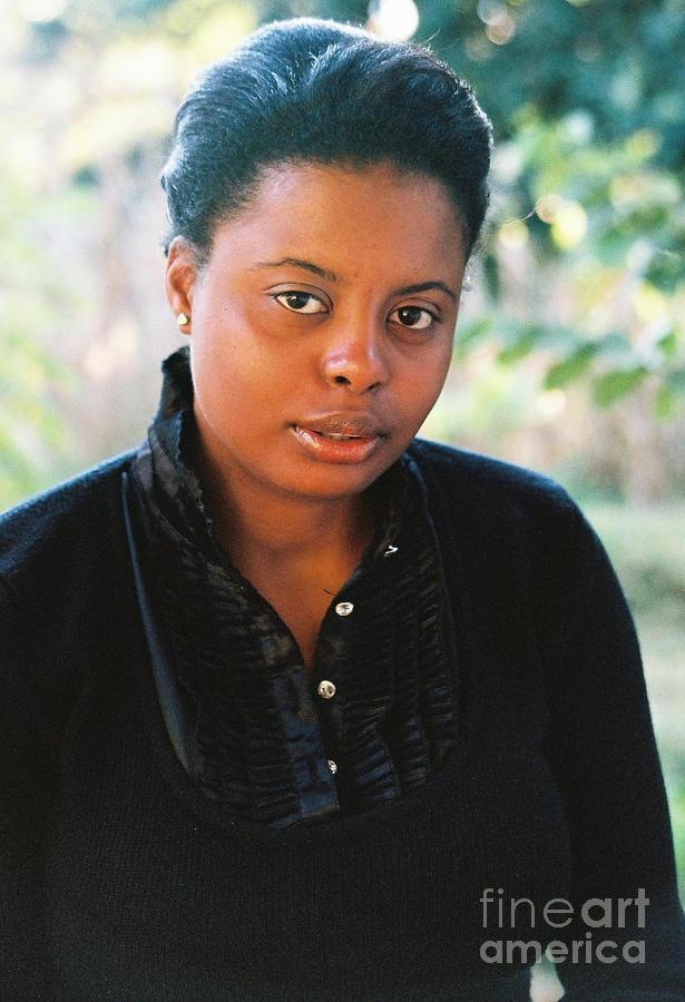 Beautiful Black Women Photograph - By The Way by Daniel Robinson