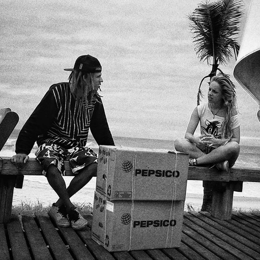 Blackandwhite Photograph - Bye Bye Rio!  #people #instapeople by Rafa Rivas