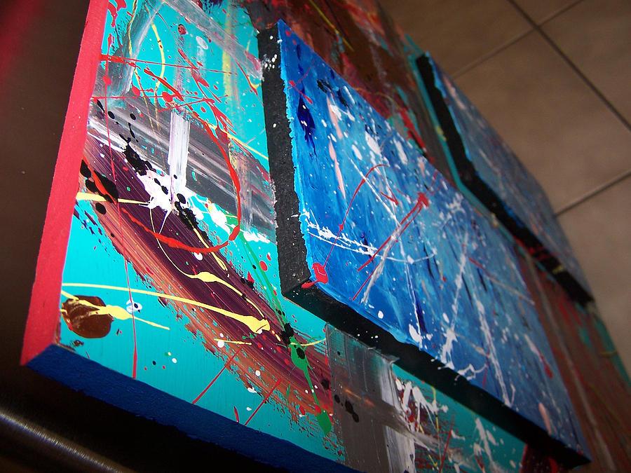 Fall Painting - Bye Bye Summer Close Up by Nino  B