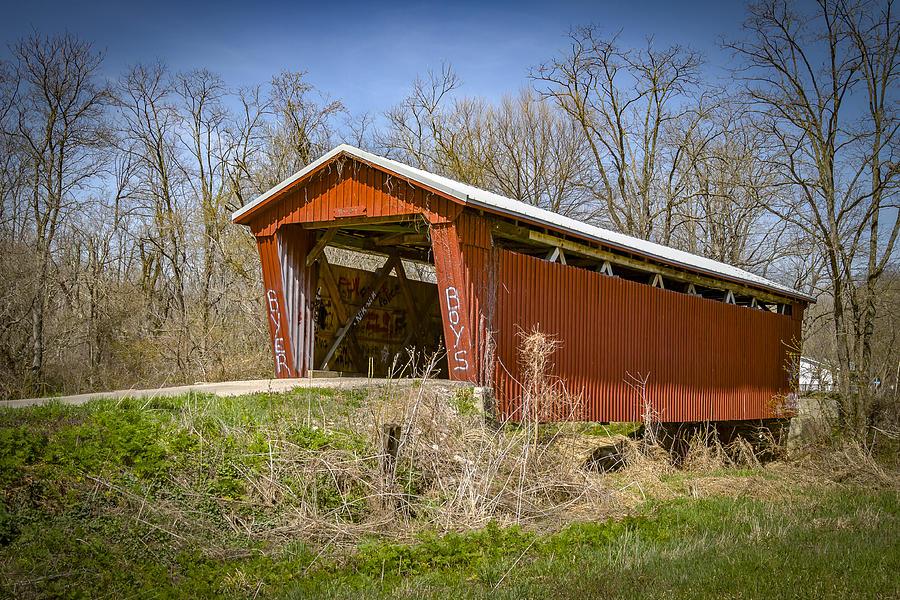 Byer Covered Bridge Photograph
