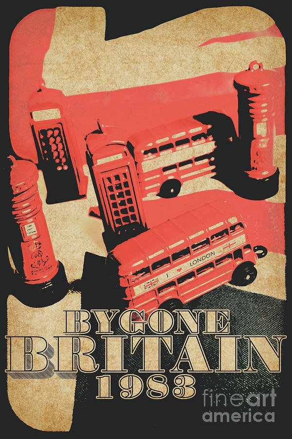 Vintage Photograph - Bygone Britain 1983 by Jorgo Photography - Wall Art Gallery