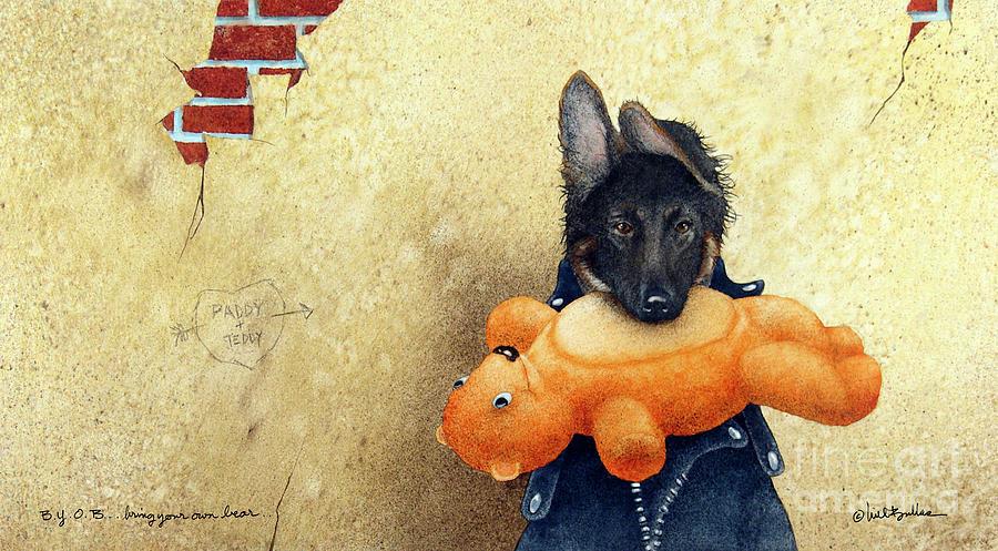 Will Bullas Painting - B.y.o.b. - Bring Your Own Bear... by Will Bullas