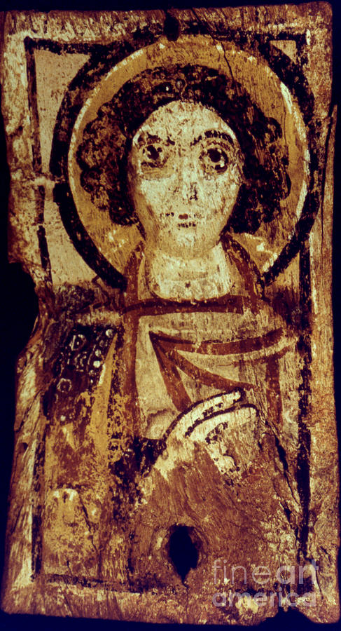 6th Century Photograph - Byzantine Icon by Granger