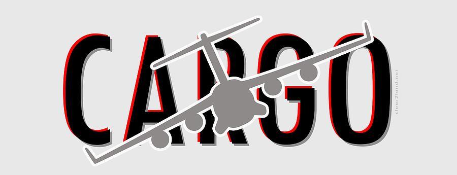 C-17 Digital Art - C-17 Cargo by Clear II land Net