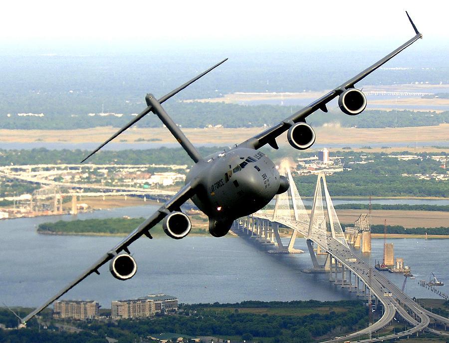 C-17 Photograph - C-17 Charleston by Aviation Heritage